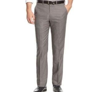 Nautica Men's Classic Fit Dress Pants Gray, 36x30